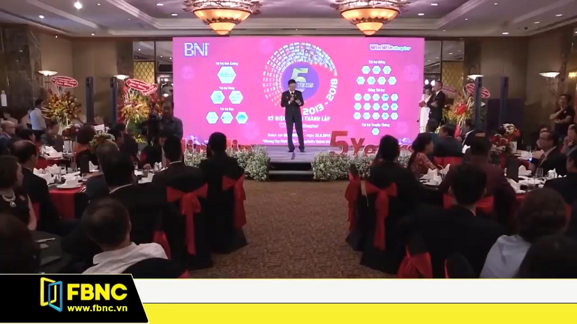 [BNI Win Win Chapter] 5 Năm Hình Thành & Phát Triển | Tin FBNC