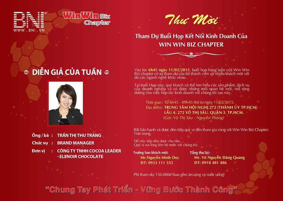 Diễn giả Thu Trang