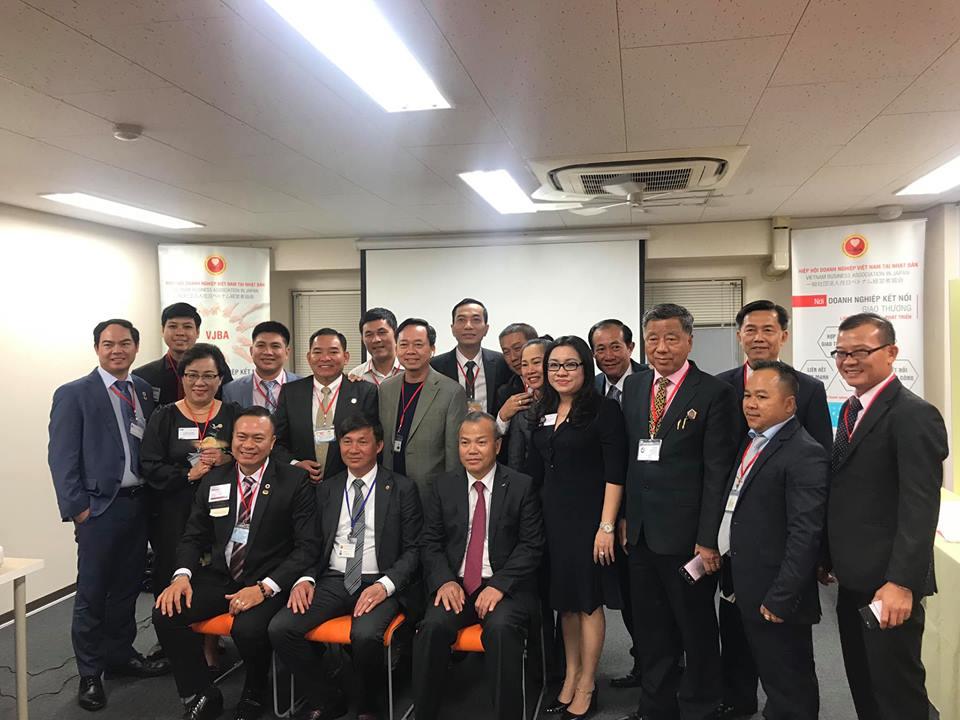 Khởi động hành trình kết nối giao thương vươn ra biển lớn của Ban Điều Hành BNI Win Win Chapter cùng 15 thành viên vào ngày 18-4-2019 tại Nhật Bản