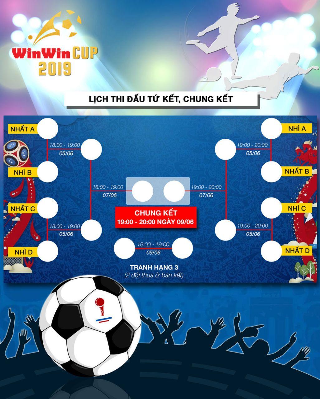 """Win win Cup 2019 – """"Vui là chính – Tranh Cup là 10"""""""