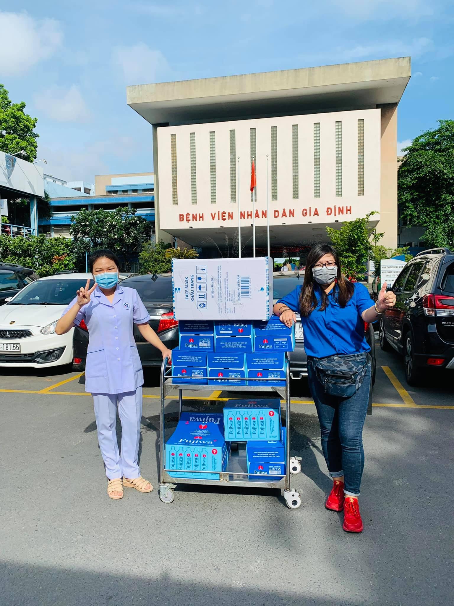 Đại Sứ Thiện Nguyện Của BNI Foundation Việt Nam, Chị Phạm Thị Phương Lan – Tiếp Sức Chống Dịch
